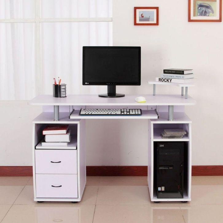 Simple Wihte Small Bedroom Desk Ideas Small Bedroom Desk Computer Desk Design Bedroom Desk