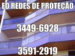 ED REDES DE PROTEÇÃO 3449-6928: ED REDES DE PROTEÇÃO EM SÃO ROQUE .AV.BRASIL 960 C...