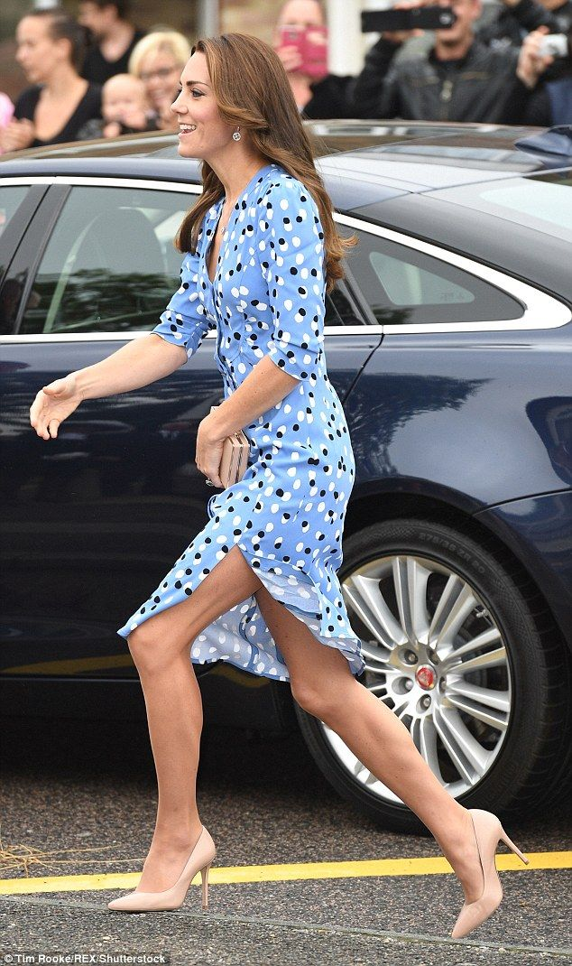 The Duchess of Cambridge wearing an Altuzarra dress will set off tongues a wagging...but she looks beautiful as always...