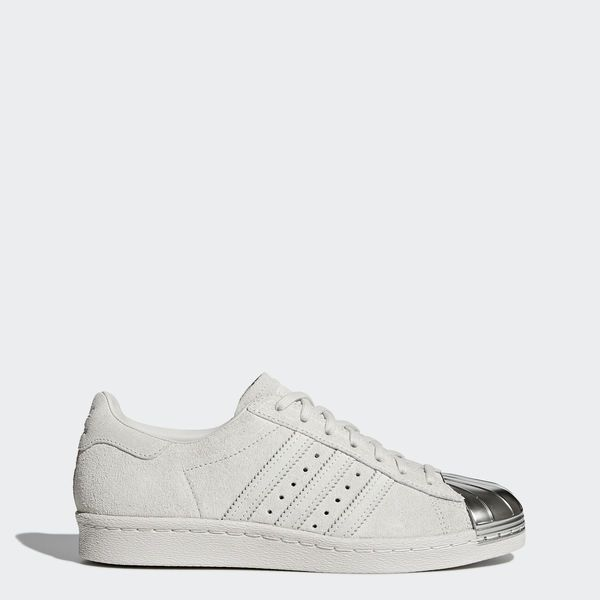 adidas Superstar 80s Metal Toe Shoes Grey CP9945