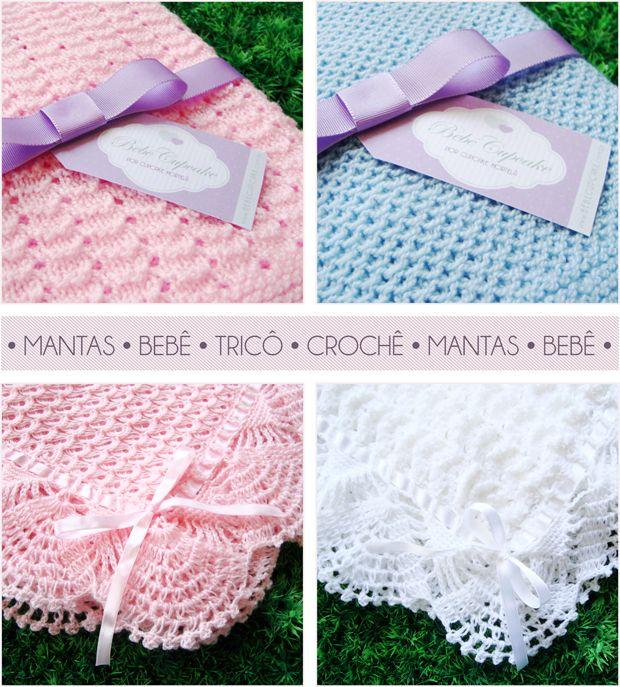 Las 25 mejores ideas sobre mantas para beb s en pinterest - Punto de ganchillo para mantas ...