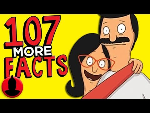 107 Bob S Burgers Facts You Should Know Part 2 Channel Frederator Youtube In 2021 Bobs Burgers Facts Hilarious