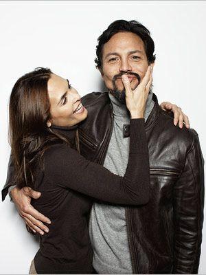 Talisa Soto & husband Benjamin Bratt, Sundance 2009