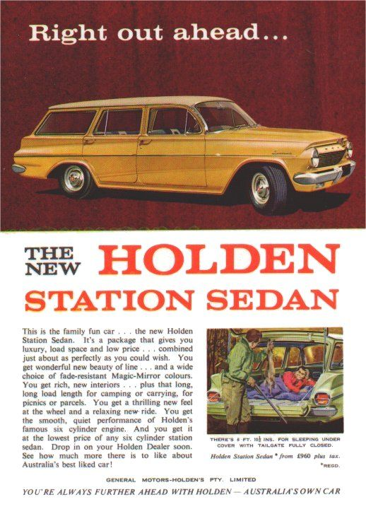 1962 Holden EJ Station Wagon