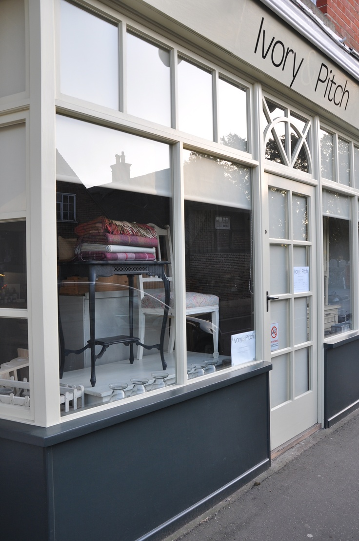 Ivory & Pitch - Shop Front