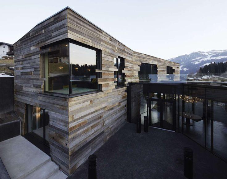 Kitzbuehel Mansion_Splendid Architecture timber cladding, horizontal cladding, architecture, facade