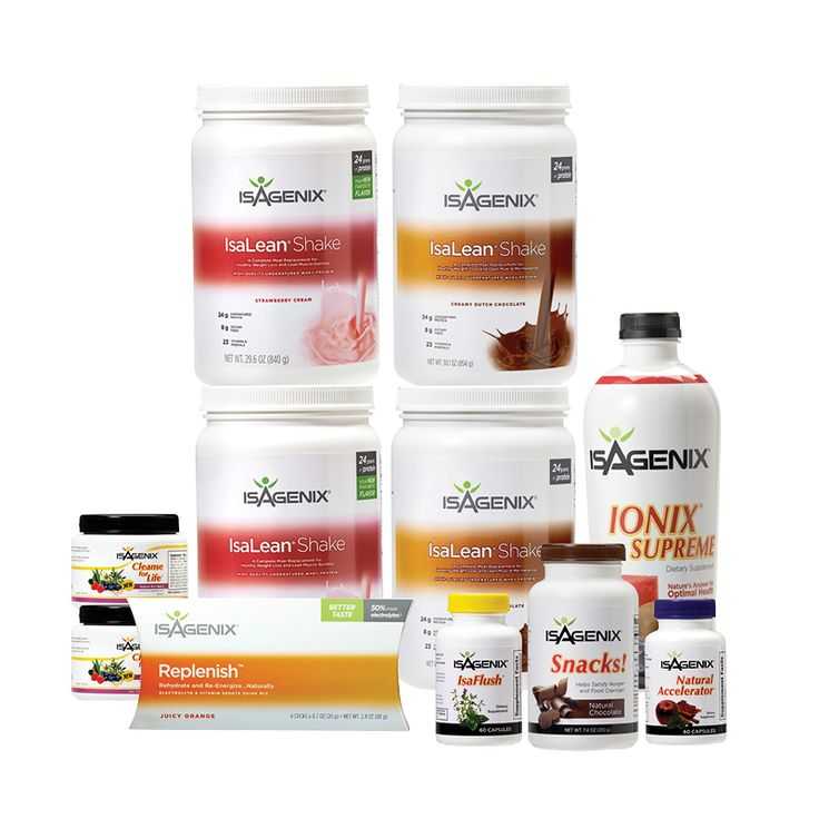 30 Day Nutritional Cleansing and Fat Burning - Weight Loss Shakes - Isagenix.com