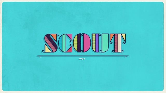 Logo animation for SCOUT Studio in NYC. Animation by me and design by Chase Hartman.  http://scoutstudios.tv/