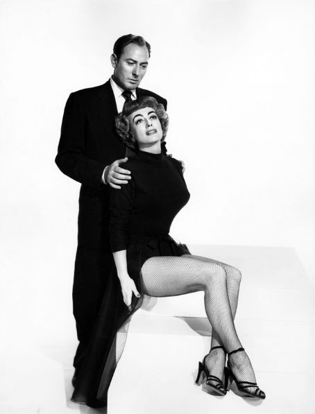 1953. 'Torch Song,' with Michael Wilding.