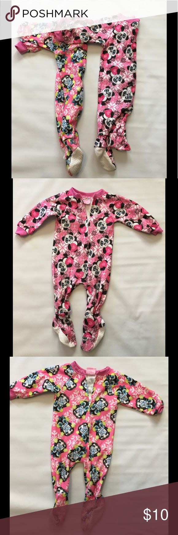 NWOT Bundle of Footies Two sets of footies. Perfect for lounging around during those cold days or when going out. These were never worn.(No pets and no smoking) One Pieces Footies