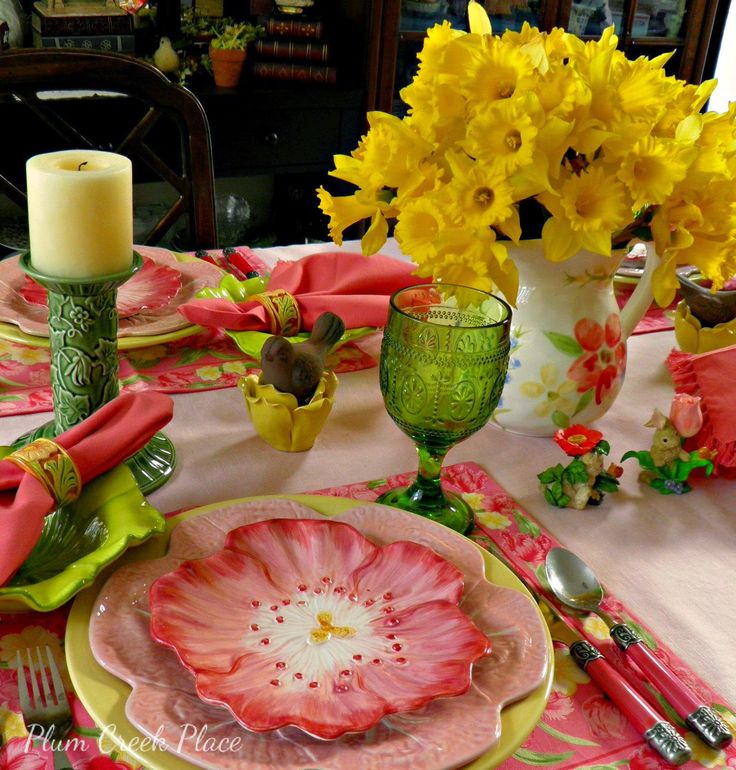Tablescapes 393 best spring tablescape images on pinterest | table settings