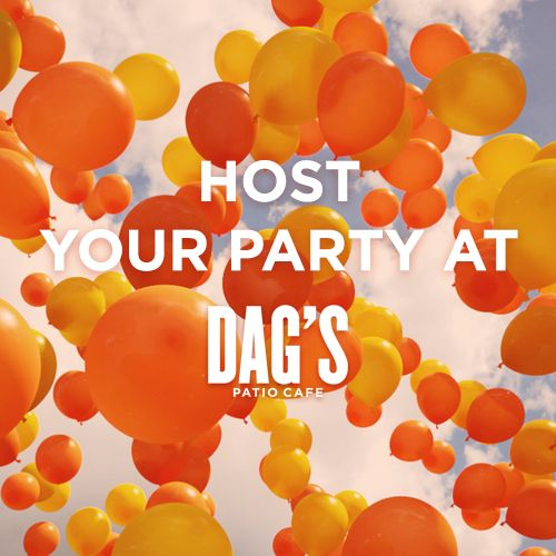 Celebrate In The Heart Of New York City At DAGu0027S Patio Cafe. Contact Us  Today To Learn More About Our Event Packages For Parties Of 15 Or More.