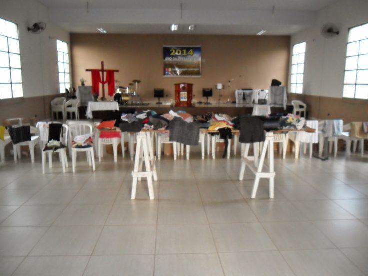 A minha esperança é Jesus!: Bazar de Roupas Usadas realizado no sábado 12 Abri...