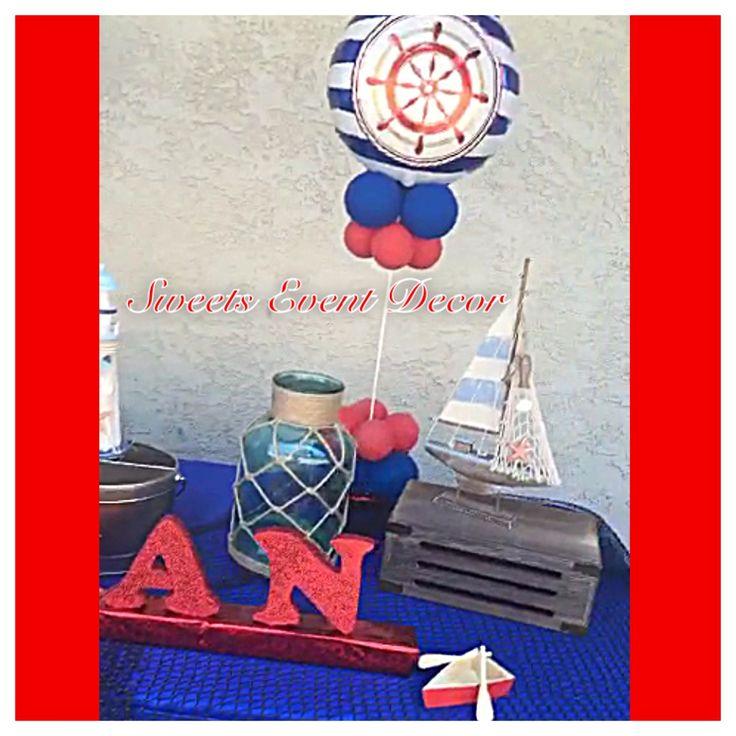 Nautical Event Decor: 18 Best Nautical Theme Decoration By: Sweets Event Decor