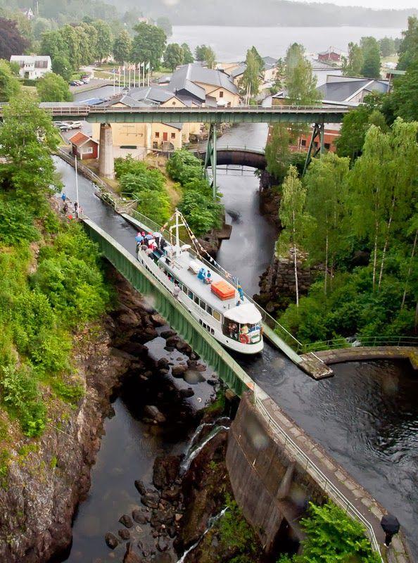 Aquaduct in Sweden