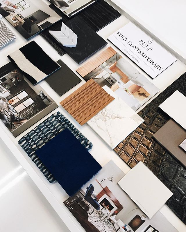 We were asked to showcase our work at tonight's @sherwinwilliams @dektonbycosentino @annsacks event in Seattle! We created this beautiful presentation board to show off our firm's interiors... @bethdotolo @carolinavgentry