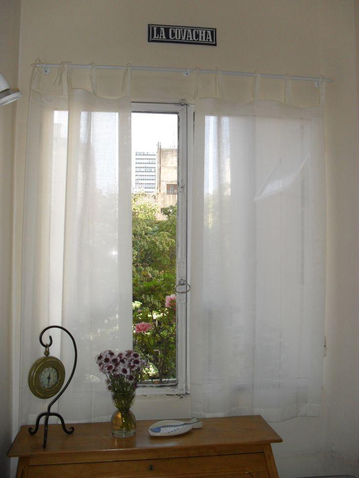 M s de 1000 ideas sobre cortina de cintas en pinterest - Cortinas de gasa ...