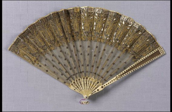 Fan. Probably French or English, about 1800 - in the Museum of Fine Arts Boston.
