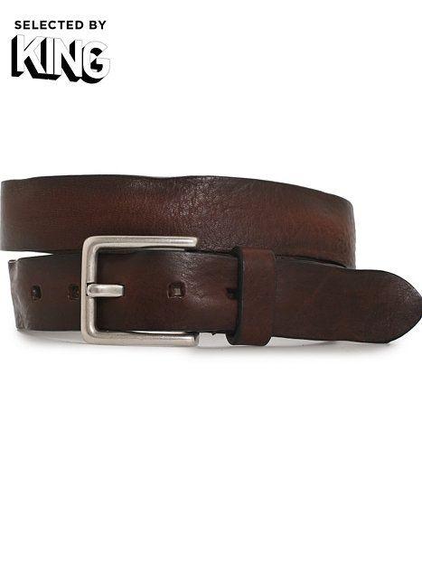 Saddler Belt Male - Sdlr - Brun - Accessoarer Övrigt - Accessoarer - Man - NlyMan.com