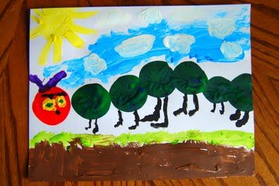 """Crafts for """"The Very Hungry Caterpillar"""""""