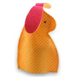 A cute way for the Easter Bunny to 'present' the chocolate eggs on Easter Sunday. Template Available