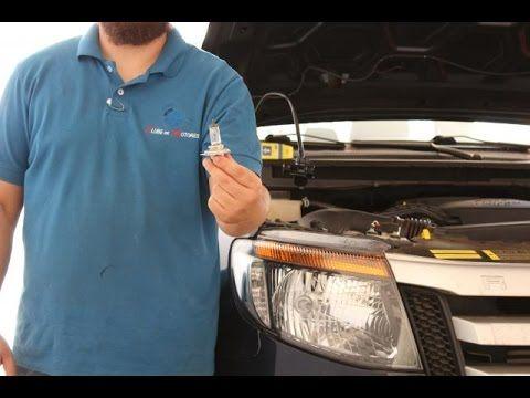 Como trocar a lâmpada do Farol