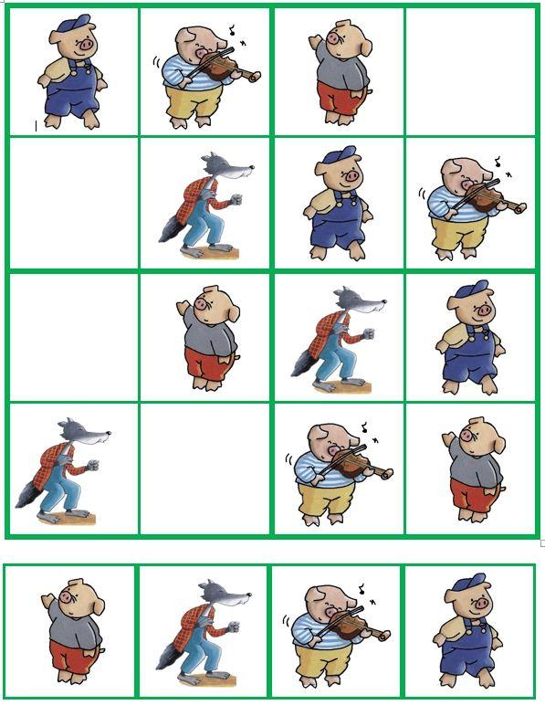 Sudoku De 3 biggetjes (03)