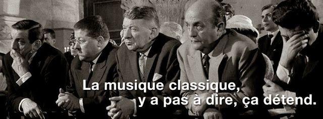 La musique classique....
