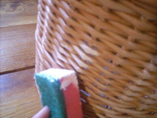 Tutorial - how to give a natural look to a basket made out of paper - Moje pletení z papíru - Fotoalbum - NÁVOD - NA NETRADIČNÍ PLETENÍ - NÁVOD - NA PATINU