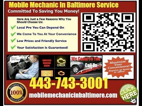 Mobile Mechanic Pikesville MD auto car repair service shop review that comes to you call 443-743-3001 or visit us at http://www.youtube.com/watch?v=5Skw7OM5htA