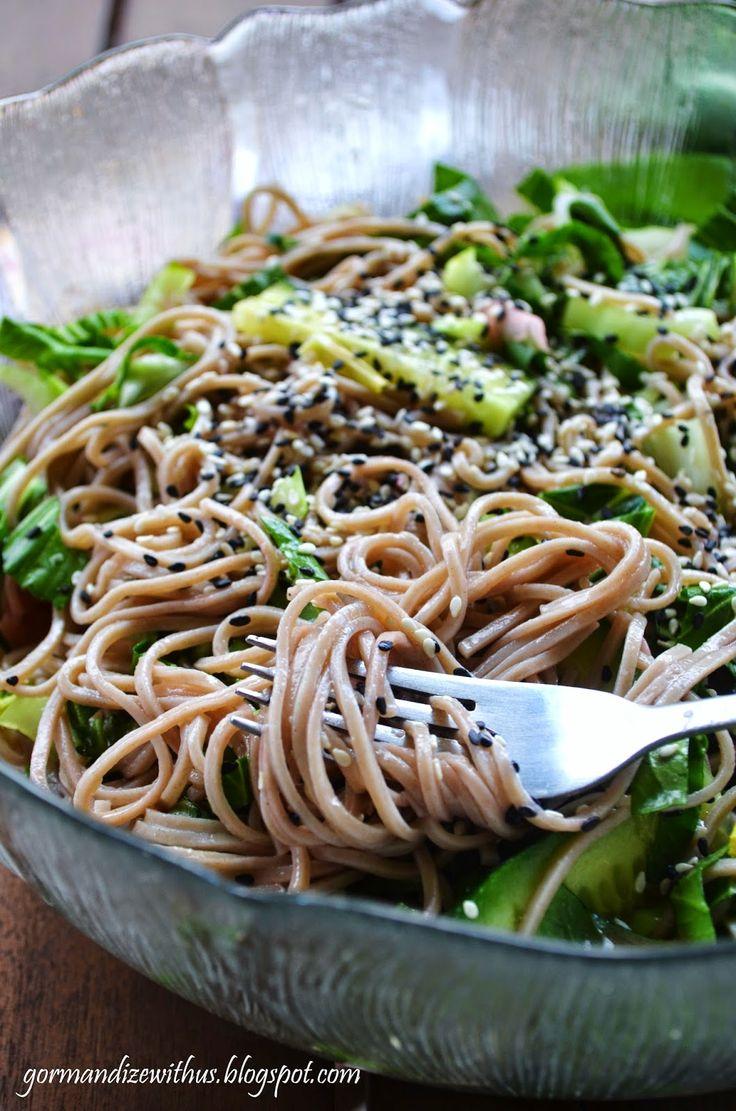 Salad, 10 Recipe, Soba Noodles, Raw Vegans Quinoa Salad, Noodles Salad ...