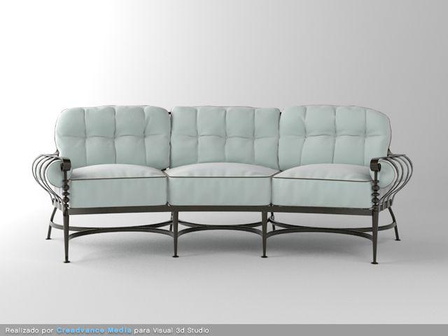 modelo 3d sofa
