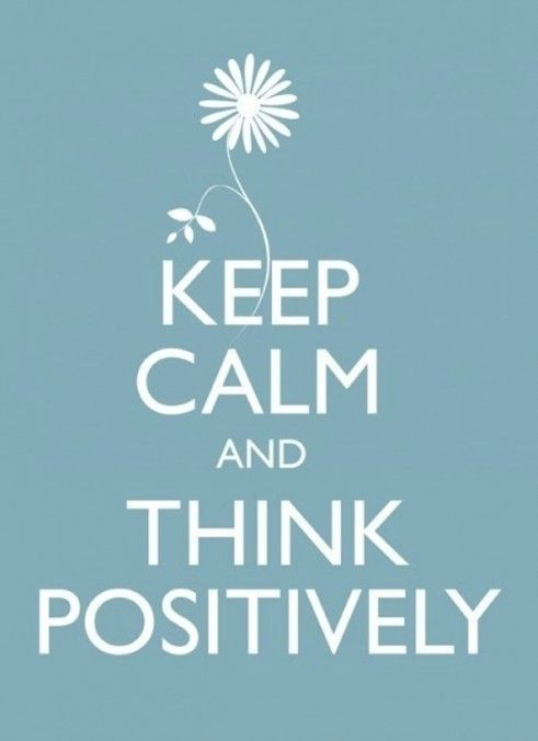 Always think positive thoughts and great things will happen. You'll also feel great about your self.