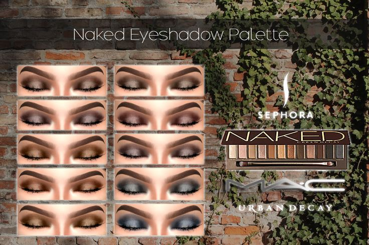 NakedEye-shadowPaletteby MAC 12 neutral Shades... - Cosimetics