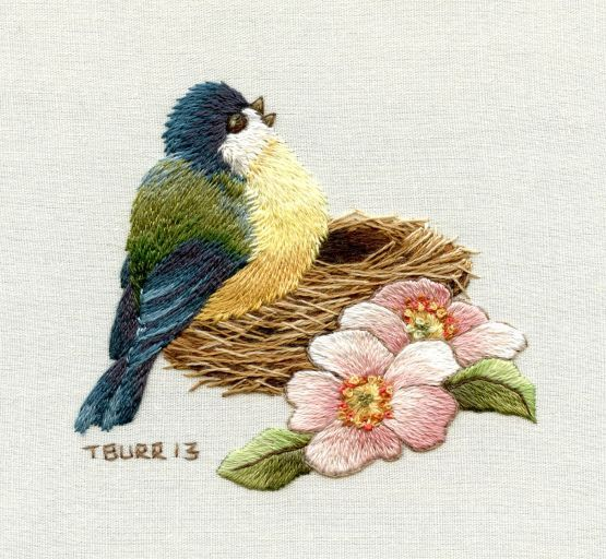 Hello Everyone At last I am able to share with you some details about the new book Miniature Needle Painting Embroidery:  Vintage Portraits, Florals & Birds, published by Milner Craft, Australi…