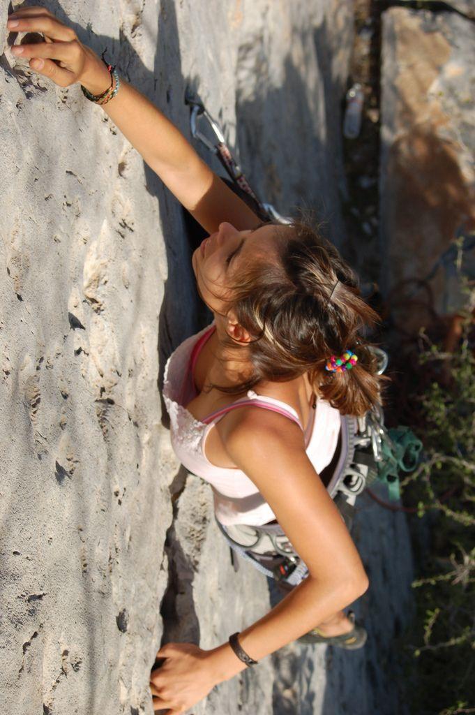 Explorin  Rock Climbing  Climbing, Climbing Girl, Rock -3159