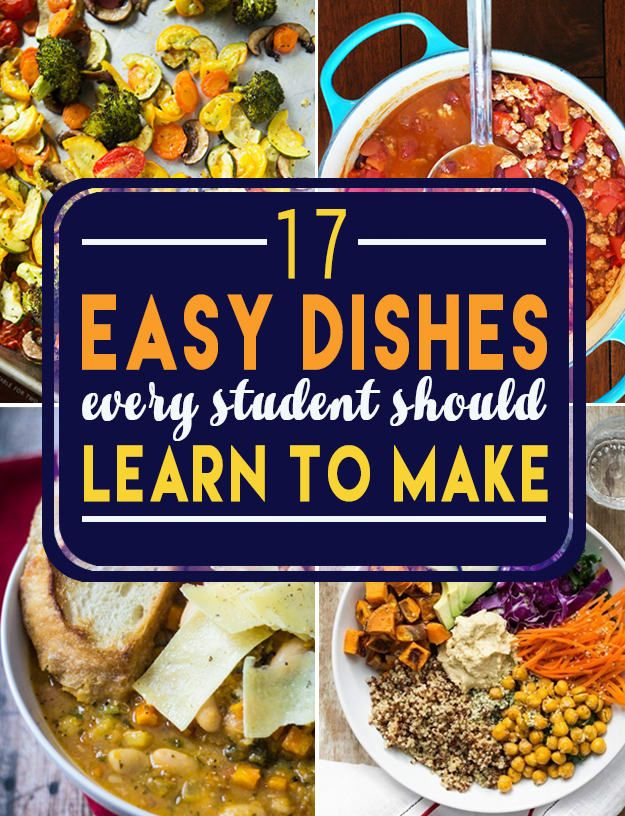 17 Cheap And Healthy Dishes Every Student Should Know Cheap Healthy Meals Student Recipes Healthy Meals For Two