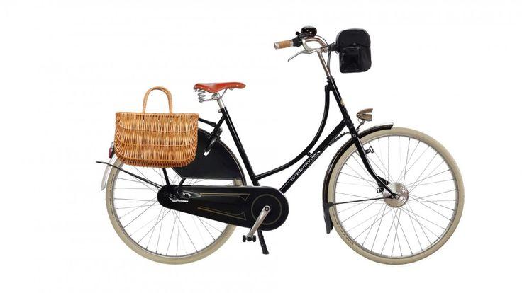 Vélo électrique hollandais Amsterdamer 1881 Exclusive, batterie avant