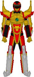 Power Rangers Operation Overdrive, Battlizer by Taiko554