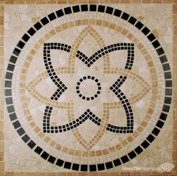 Decorative Tile Medallions 26 Best Tile Medallions Images On Pinterest  Counter Tops