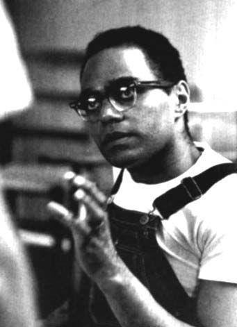 Bob Moses, the architect of Freedom Summer, by Steve Shapiro, Black Star.