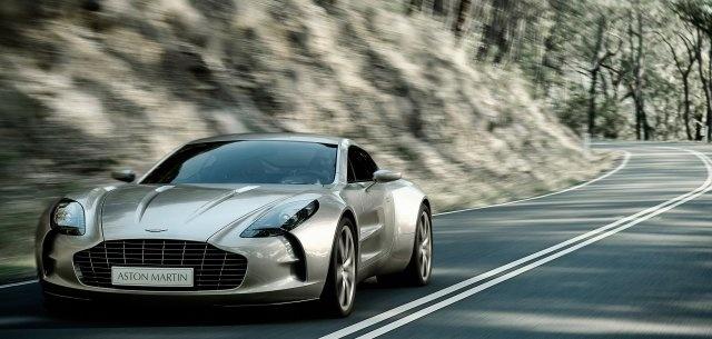 Genial Aston Martin One 77 2012
