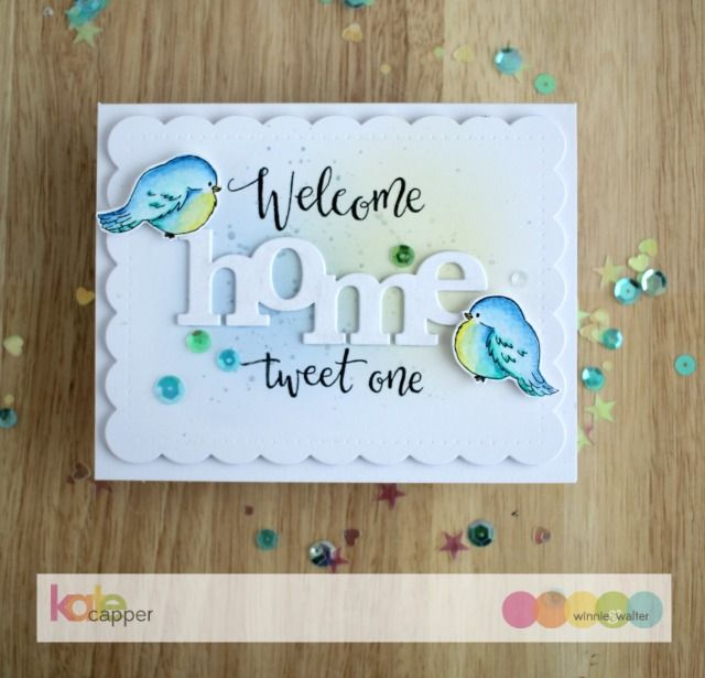 Winnie Walter Blog Welcome Home Tweet One With Kate Animal CardsWalter