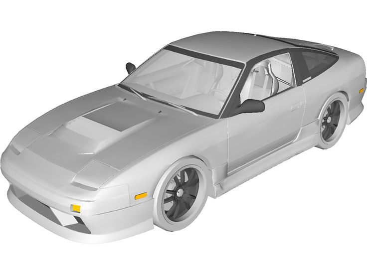 Nissan 200sx S13 Drift Spec 3D Model