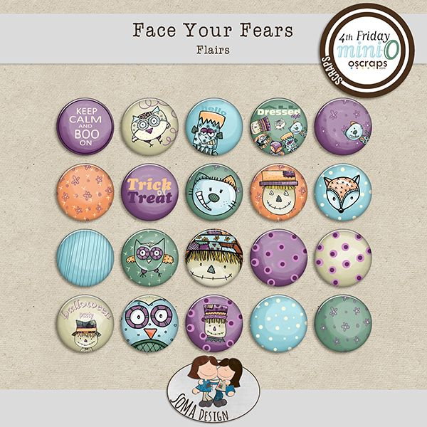 SoMa Design: Face Your Fears - Flairs