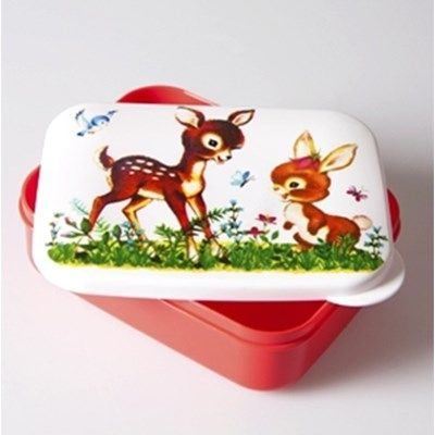 Lunchbox Hertje en Konijntje