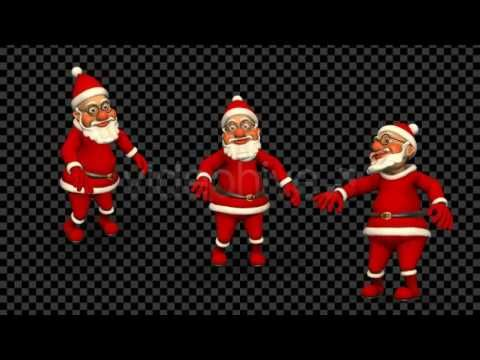 Santa Happy Dance (4-Pack) | Motion Graphics - Videohive template