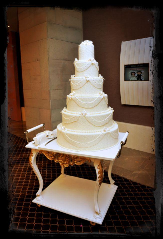 My wedding cake Düğün pastam