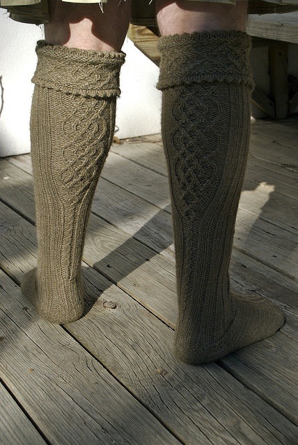 Someday I'll learn to make socks... and eventually graduate to making these for hubby.  Pattern on Ravelry fro $4.50.