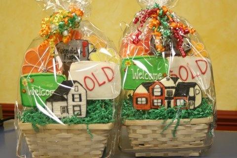 New Home Gift Baskets By Bennysbakerycakes Via Flickr